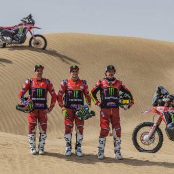 Monster Energy Honda Team, Joan Barreda, José Ignacio Cornejo, Kevin Benavides
