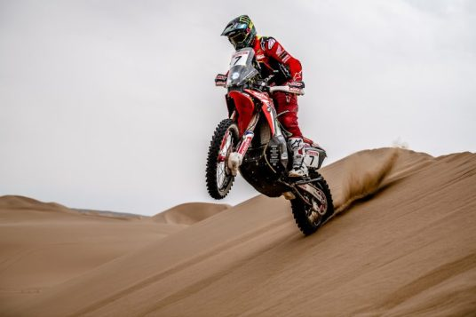 Kevin Benavides, Monster Energy Honda Team, Silk Way Rally