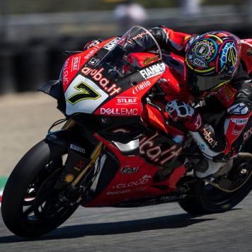 Chaz Davies, Ducati Team, Laguna Seca