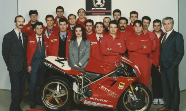 La 916 de Massimo Tamburini en el Museo Ducati