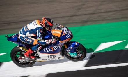 Augusto Fernández y Jorge Navarro brillan en Silverstone Moto2