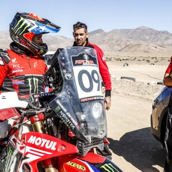 José Ignacio Cornejo, Monster Energy Honda Team, Atacama Rally