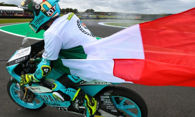 Lorenzo Dalla Porta, 2019 Moto3 WORLD CHAMPION con el Leopard Racing