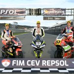 Alcoba se corona campeón del mundo junior de Moto3 en Valencia