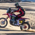 Buen debut del Monster Energy Honda en el Dakar de Arabia Saudita