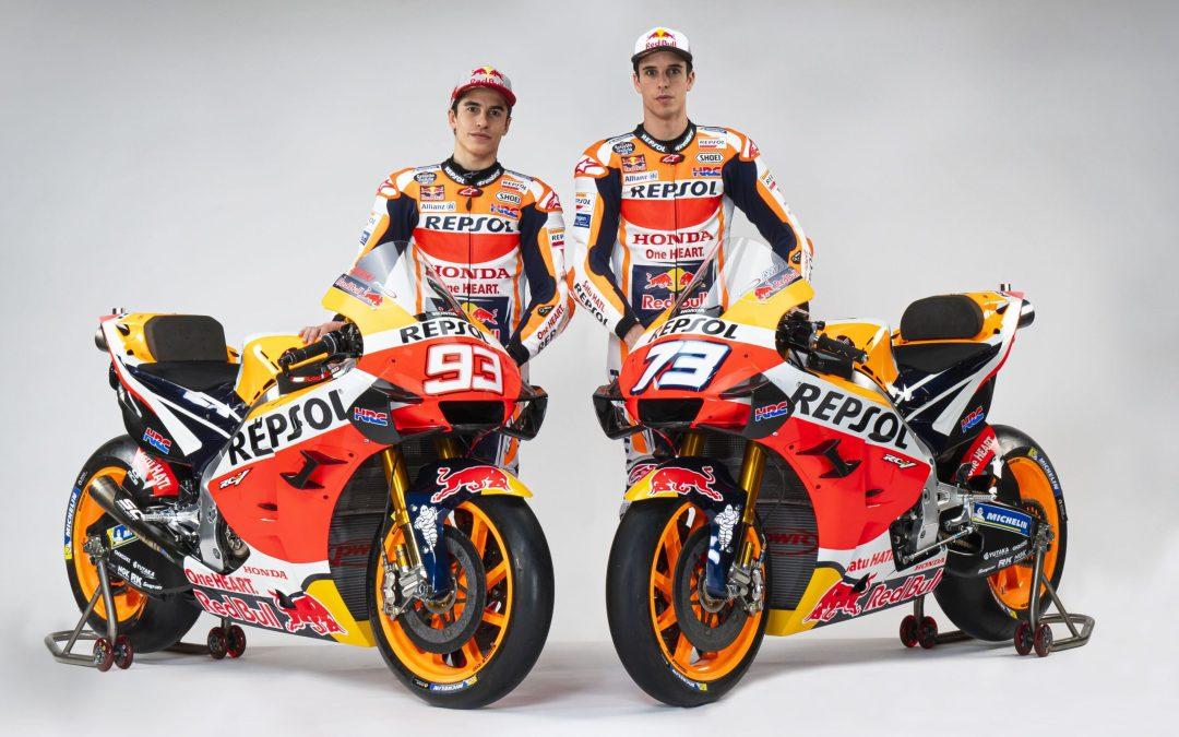 El equipo Repsol Honda, listo para el #StayAtHomeGP