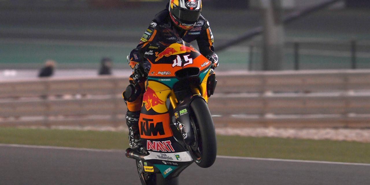 Fantástica victoria en Moto2 para Tetsuta Nagashima