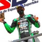 Román Ramos y el Kawasaki Palmeto PL Racing Team vencen en Navarra