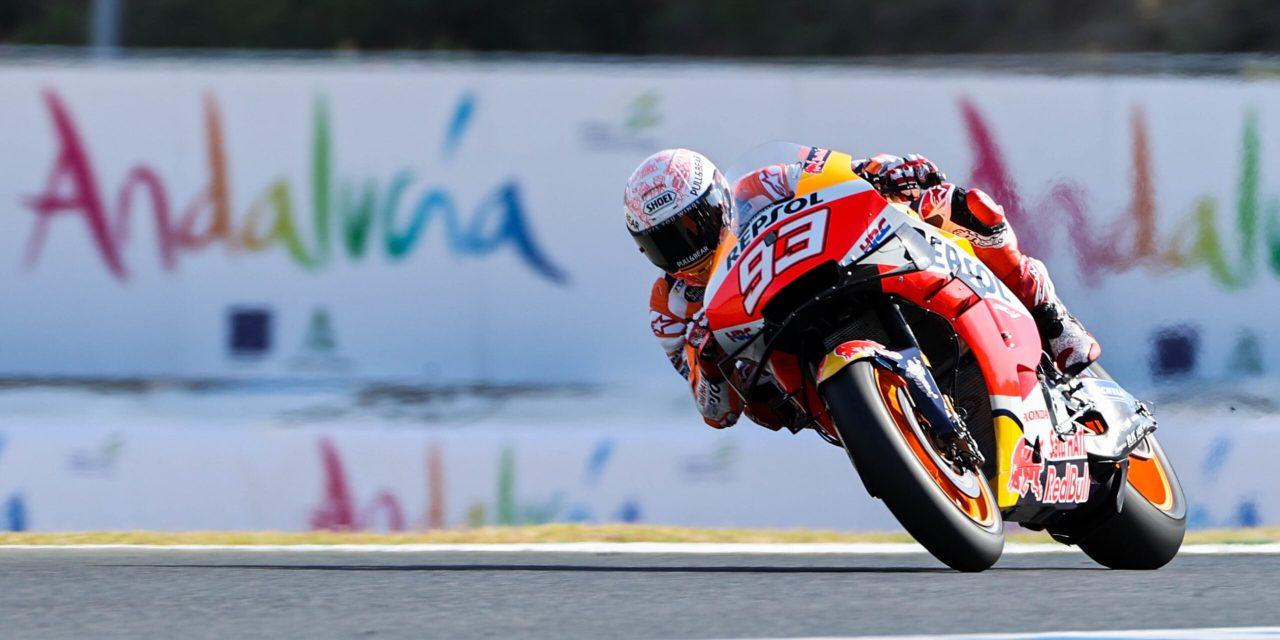 Marc Márquez sufre una fractura del húmero derecho en Jerez