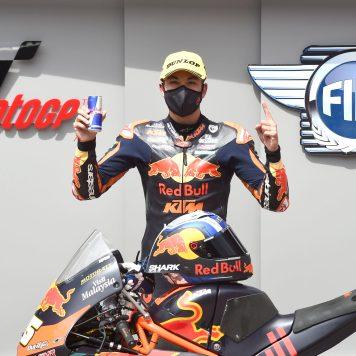 Raul Fernandez, Austrian Moto3 15 August 2020
