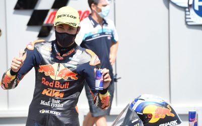 Raúl Fernández consigue la primera pole position en el Campeonato del Mundo en Brno