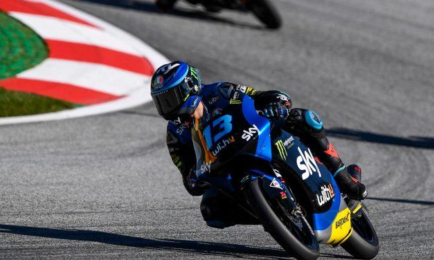 Victoria en Moto3 para Celestino Vietti con el Sky Racing Team VR46