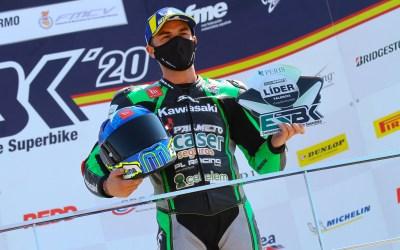Doble victoria y liderato para Ramos y el Kawasaki Palmeto PL Racing Team en Cheste