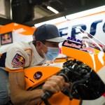 Marc Márquez regresa al paddock de MotoGP