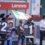 Luca Marini y Marco Bezzecchi (Sky Racing Team VR46) vencedores en Misano