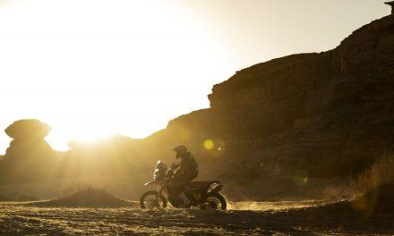 El Monster Energy Honda se reúne de nuevo para el Andalucía Rally