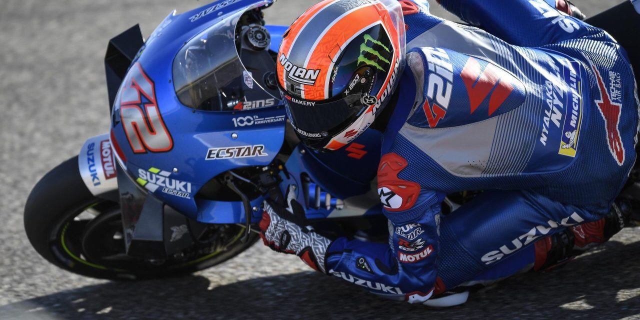 Rins gana en Motorland, 2º Márquez, 3º Mir y 4º Viñales