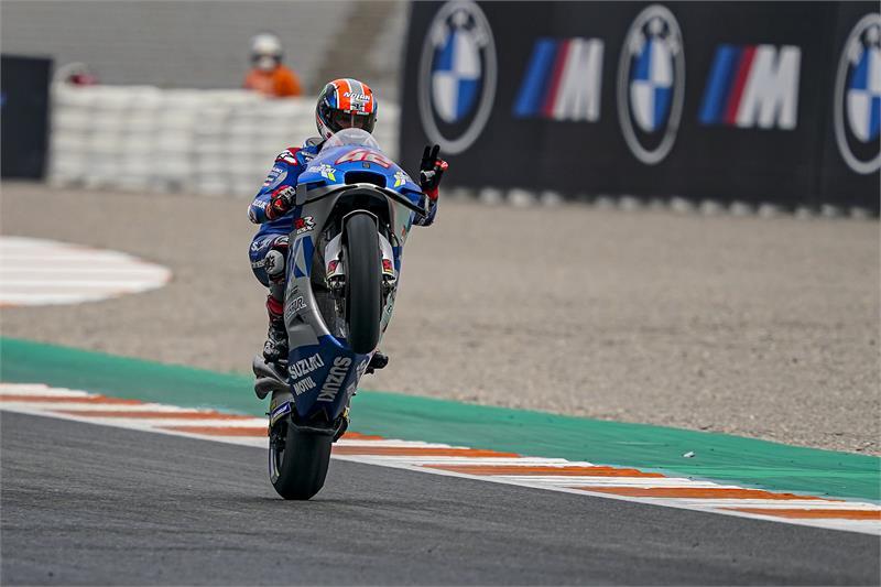 Álex Rins, Suzuki, Circuito Ricardo Tormo, MotoGP, @yiyodorta, @teammotofans, #PacoCueto