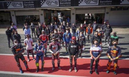 Los pilotos de motociclismo ponen un sobresaliente al nuevo trazado del Circuit