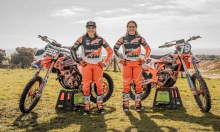 Dos mujeres rompen barreras en Nacional de Motocross