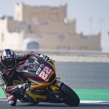 Sam Lowes, Test Qatar 21, Marc VDS Racing Team, Moto2