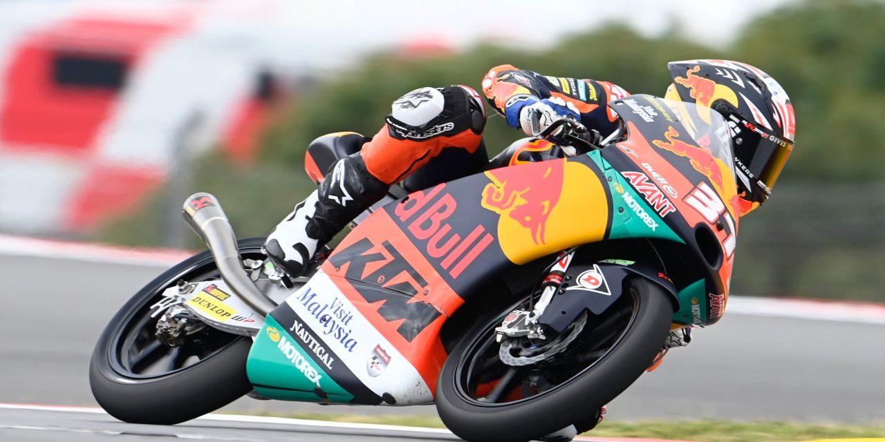 Pedro Acosta: más grande, más inteligente, más líder. Portimao Moto3