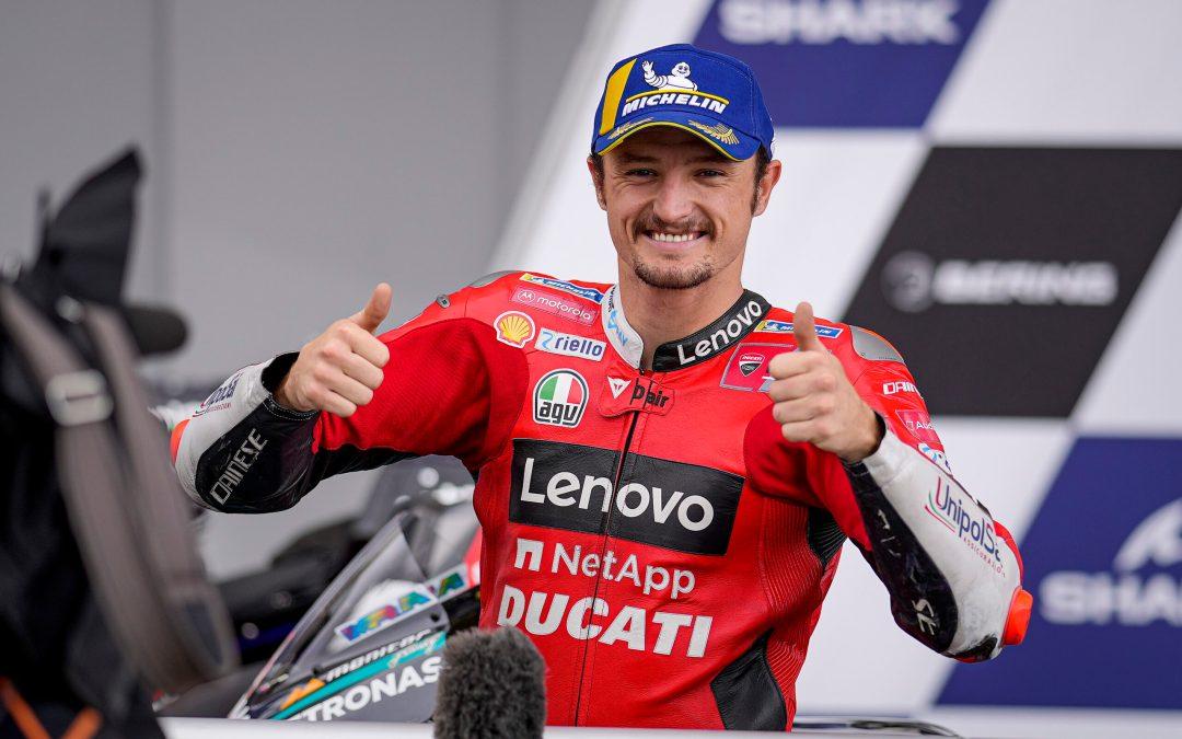 Jack Miller «Thriller» gana con Ducati en Le Mans