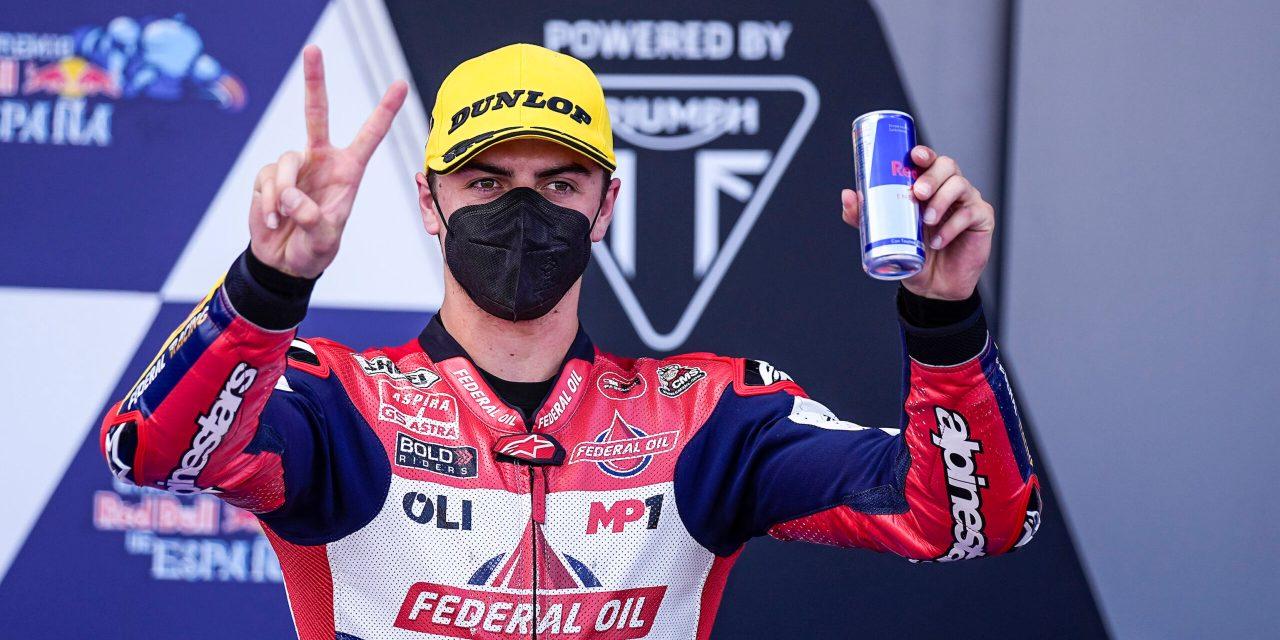 Fabio Di Giannantonio gana en Jerez, homenaje a Fausto Gresini