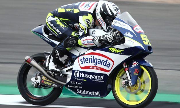 Romano Fenati rey de Silverstone en Moto3