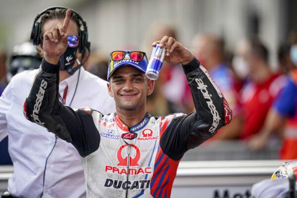 Jorge Martín «Martinator» vuelve a conseguir la pole en Austria con Ducati