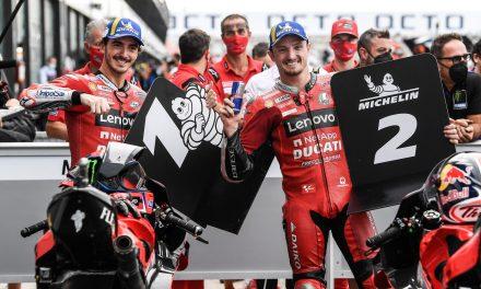 Otro doblete Ducati en el qualifying: Bagnaia en pole position y Miller segundo en el Misano World Circuit 'Marco Simoncelli'