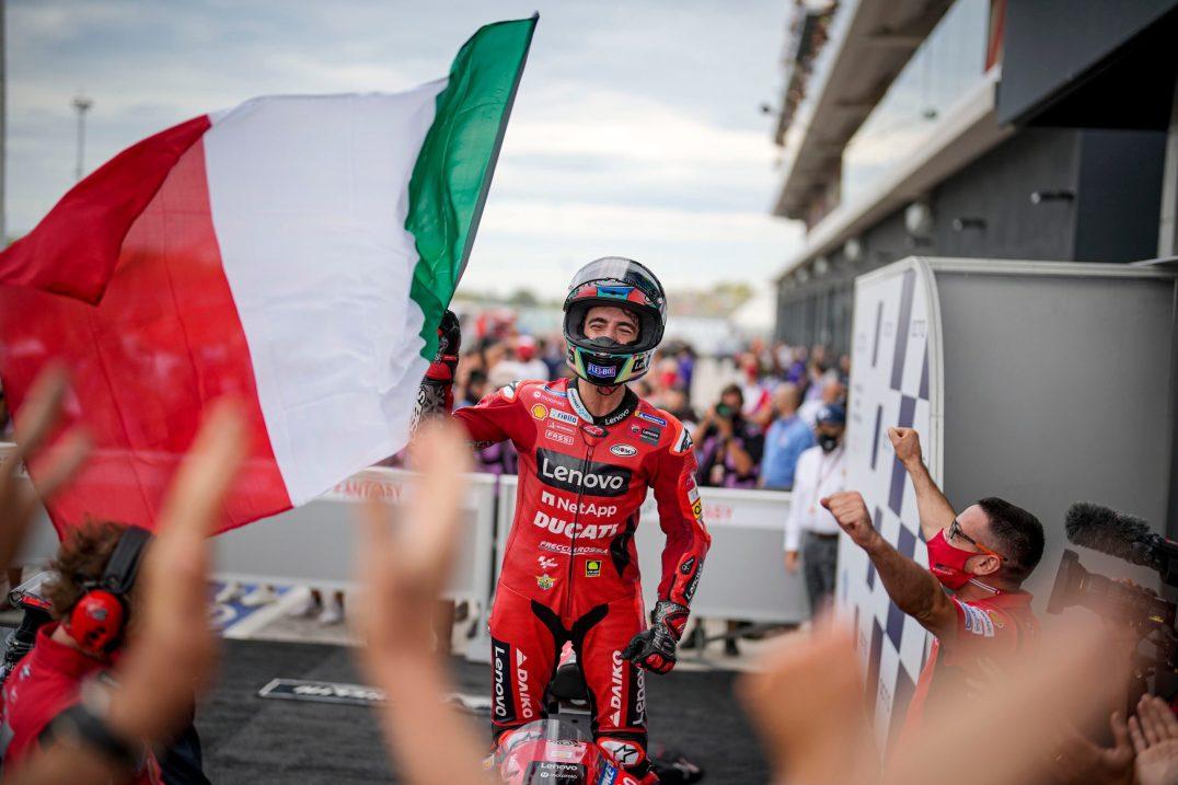 Pecco Bagnaia, Ducati Lenovo Team