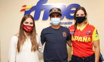 Tres campeones en la RFME: Josep García, Mireia Badia y Sandra Gómez