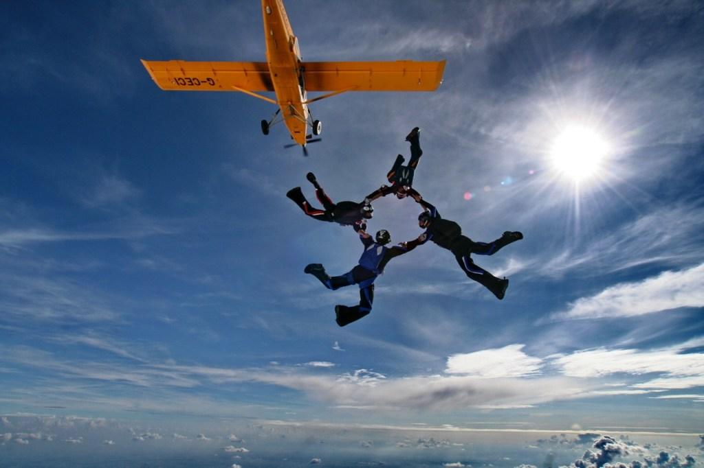 Remi skydive