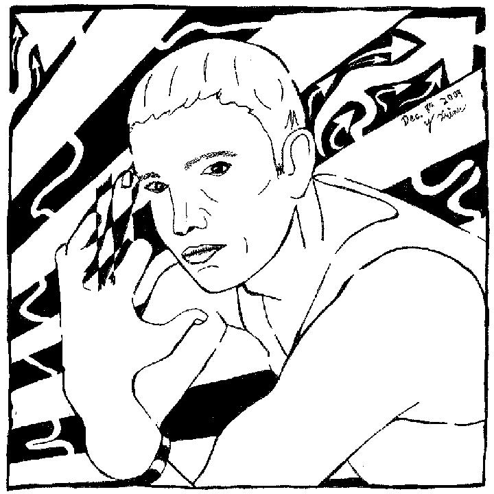 eminem maze marshal mathers portrait