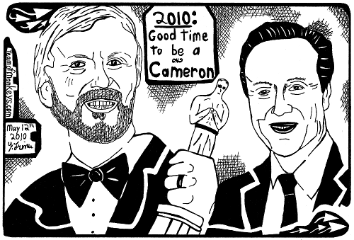 James and David Cameron