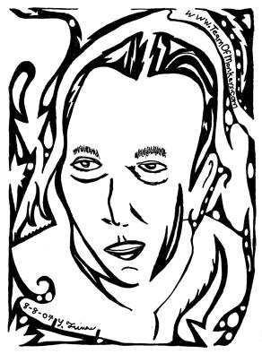 Arcadi Gaydamak maze portrait