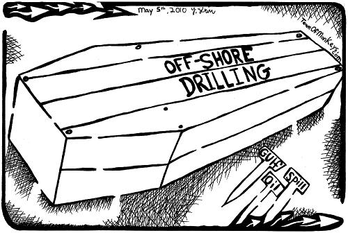 nail coffin maze for gulf oil spill maze