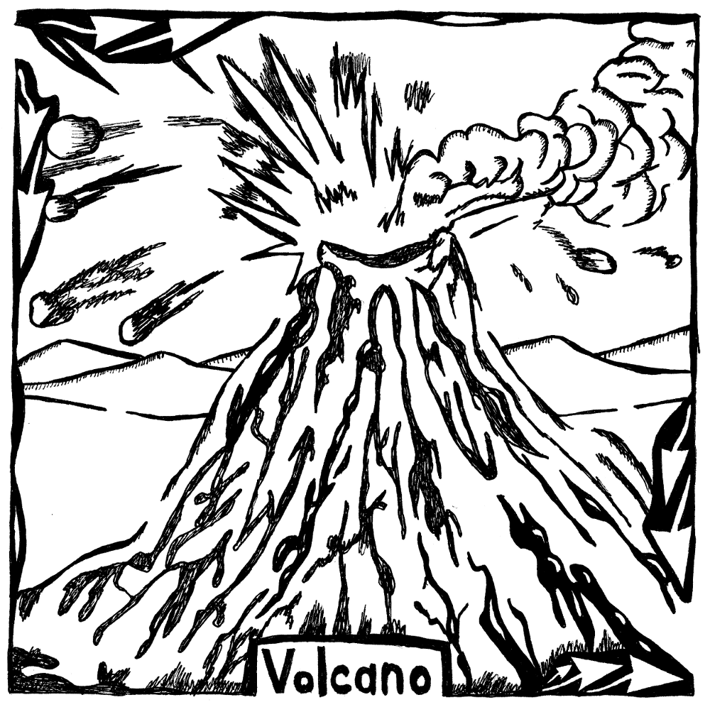 Yonatan Frimer Maze of the Volcano