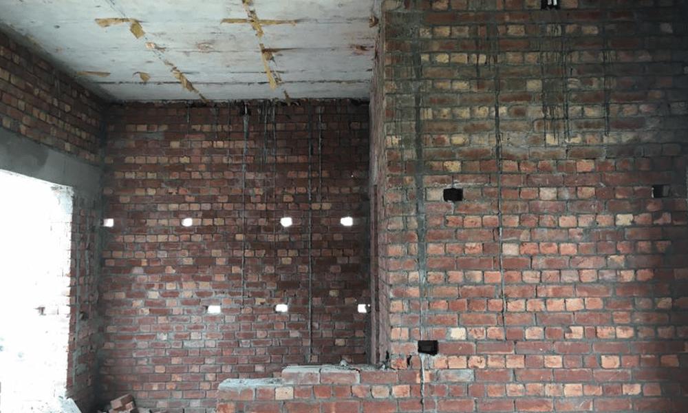 plaster shuttering grey structure