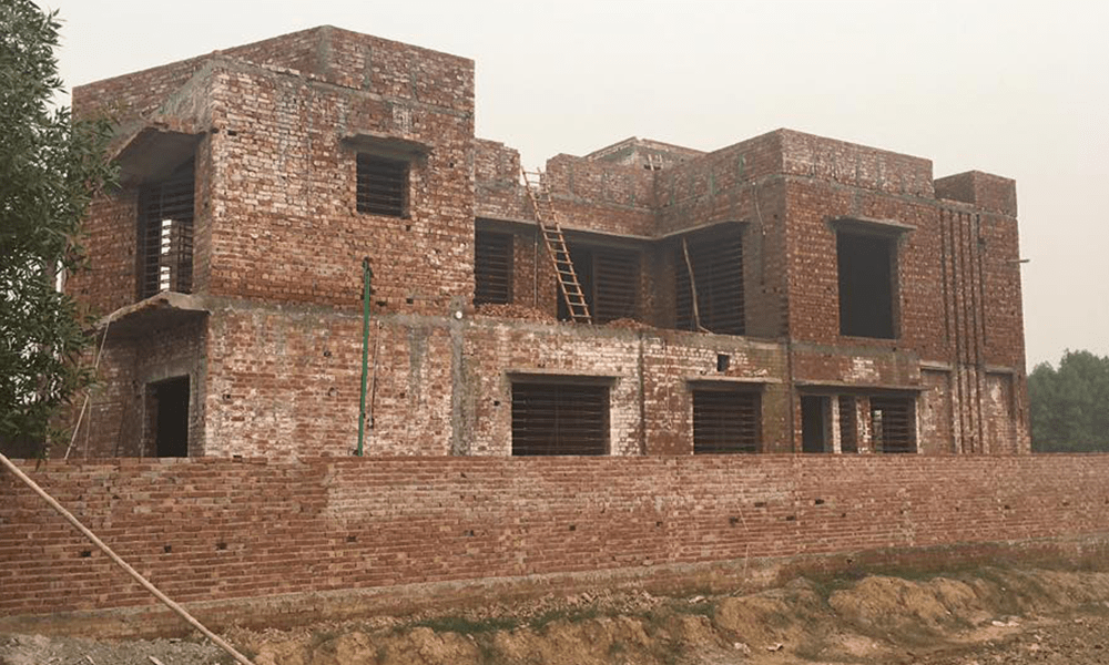 side elevation for 1 kanal house