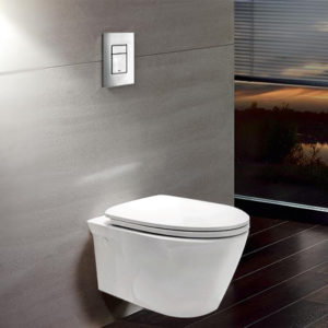 concealed commode