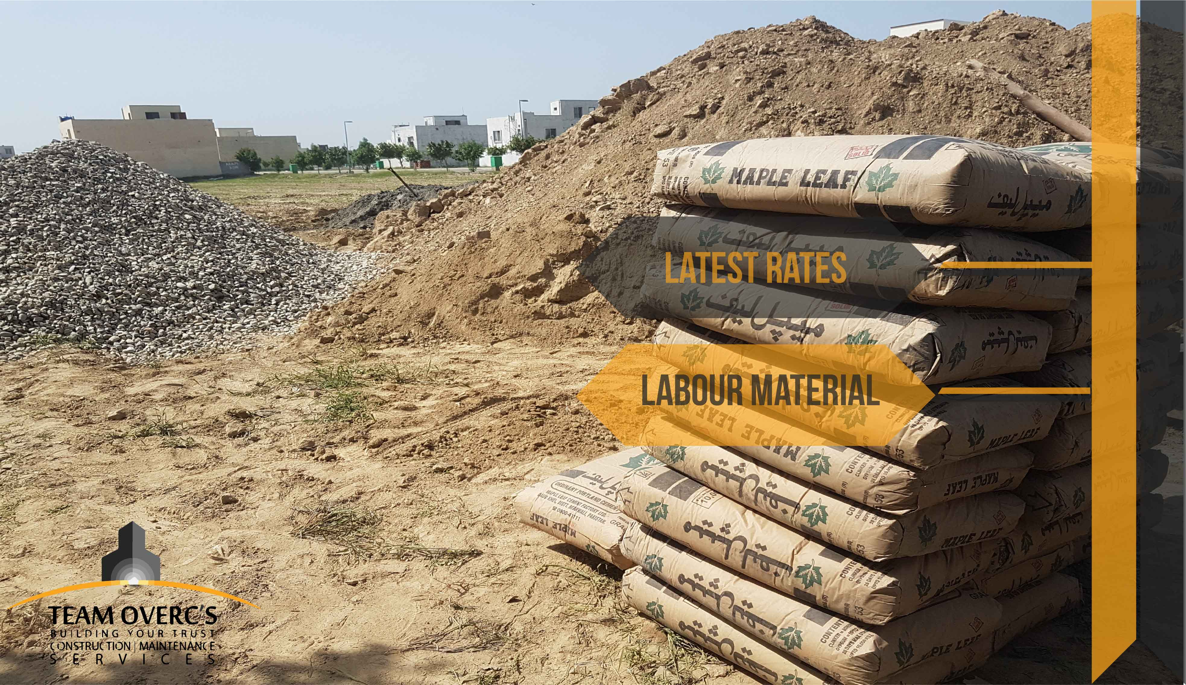 Latest Construction Rates For House In Lahore Wiring Materials Name And Material Prices