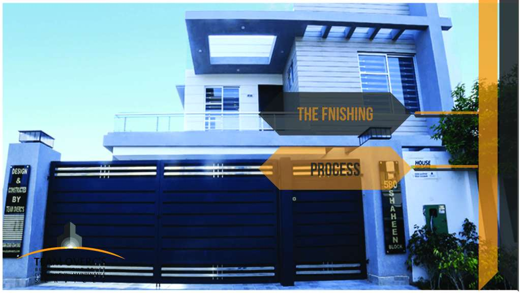 house construction finishing works