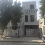 5 marla house Bahria nasheman grey structure brick work