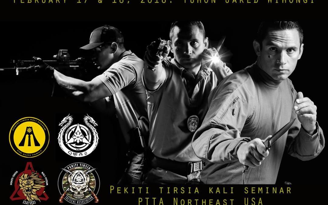 Pekiti-Tirsia Kali Seminar hosted by PTTA Northeast (PTK Elite and PTK COP)
