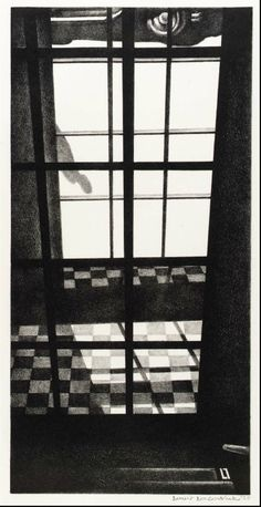 Louis Lozowick, 1892-1973. Doorway into Street, 1929.