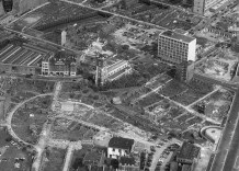 St Giles and Barbican area after the war.