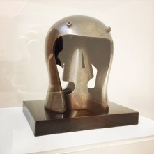 Henry Moore, 1898-1986. Helmet Head No.1, 1950.