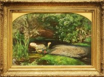 John Everett Millias, 1829-1896. Ophelia 1851-2.